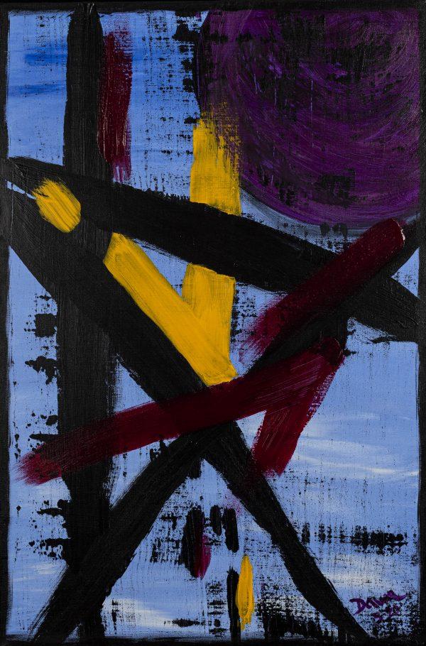 Seduction I Acrylic Painting by Dawn M. Wayand