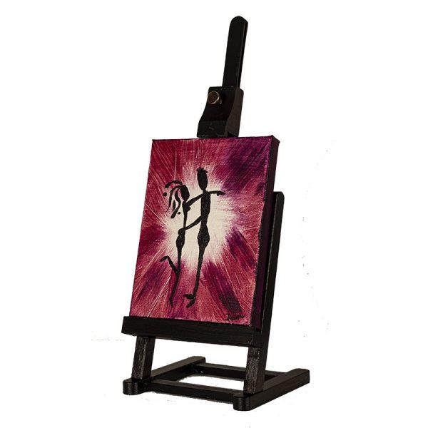 Romance I Acrylic Painting by Dawn M. Wayand