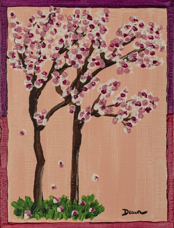 The Four Seasons II - Spring Acrylic Painting by Dawn M. Wayand