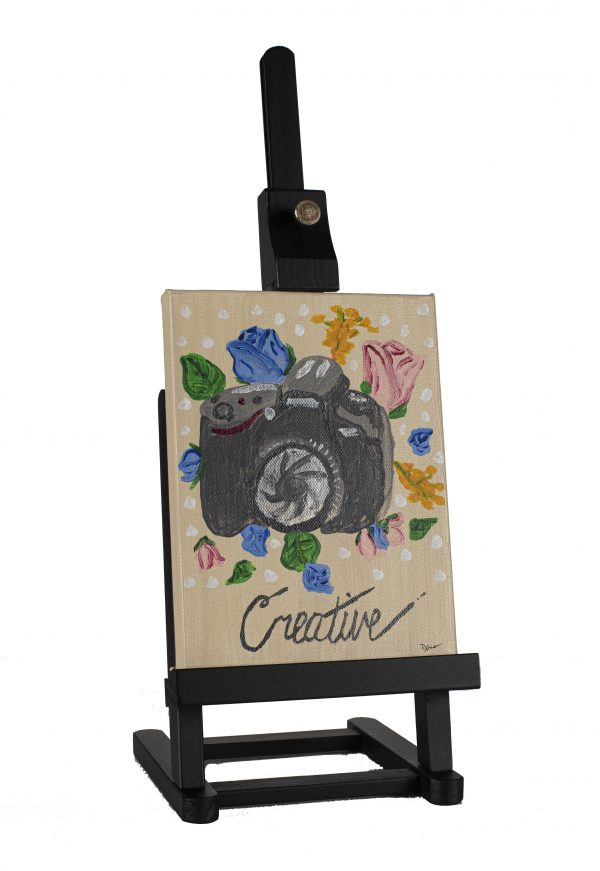 Creative Photographer I Acrylic Painting by Dawn M. Wayand