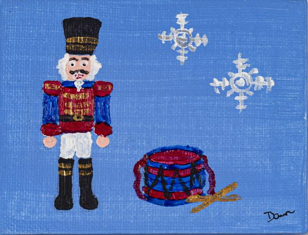 The Nutcracker I Acrylic Painting by Dawn M. Wayand